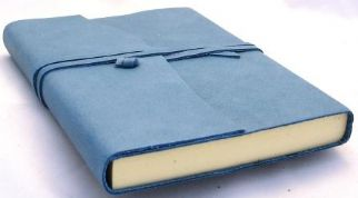 Amalfi Blue Leather Journal